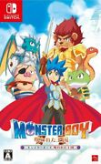 Monster Boy Cursed Kingdom Sony Playstation 4 Ps4 Games Japan W/tracking F/s