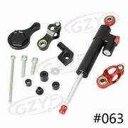 Steering Damper With Bracket Kits For Yamaha Yzf R6 2006-2015 Set Cnc Motorcycle