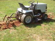 Craftsman Tractor 3 Point Hitch High/low Gears + Plow 44 Mower Small Farm