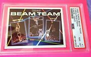 1992-93 Topps Beam Team Gold Version Shaquille Oand039neal Psa 8 Low Pop Rc