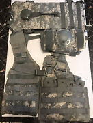 Molle Ii Fighting Load Carrier Vest Grenade Pouch Mag Pouches Flc Us Army Acu