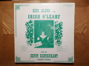 Quadraphonic Kl Recording Lp/irish Oand039leary/ Sing Along With..depot/ Wisconsin/vg