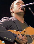 Dave Matthews Signed Autograph 11x14 Photo - Band, Rock And Roll, Everyday, Psa