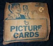 Empty 1980 Topps Case Box Dealer Display Gift Idea Duryea Pa No Cards Tphlc