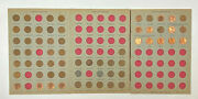 Old Lincoln Pennies Lot In Albums