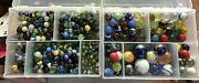 8 Pounds 1990and039s Mix Marbles Various Sizes And Styles. Andnbspcool Colors And Designs