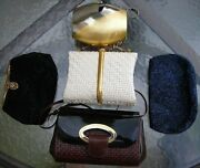 Vintage Antique 1950s Hand Made Formal Purses And Clutches Josef Walborg Rodo Etc