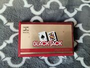1985 Nintendo Game And Watch Black Jack Multi Screen Game Tested- Extra Batterys