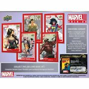 2019-20 Upper Deck Marvel Annual Humble Beginnings You Pick Finish Your Set