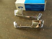 Nos Oem Ford 1953 - 1957 Truck Pickup Door Handle Pair 1954 1955 1956 F100