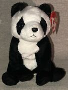 Ty Beanie Baby Rare 2000 China The Panda Collectible With Errors