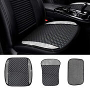1x Luxury Pu Leather Car Seat Cover Cushion Mat Bling Rhinestone Car Accessories