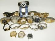 Vintage Lot 20 Wrist Watches Menand039s Womenand039s Elgin Lorus Timex Embassy Casio Etc