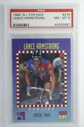 1994 Sports Illustrated For Kids Lance Armstrong 276 Psa 8 Pop 2, 1 Higher