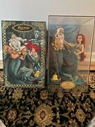 Limited Edition Disney Fairytale Series Ariel And King Triton Doll. 2929 Of 6000