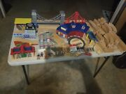 Thomas The Train Set Wooden Tracks Brio Huge Lot Hundreds Of Pieces