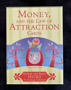 Money And The Law Of Attraction Cards Esther Hicks 60 Card Deck Brand New