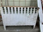 Antique Art Deco Cast Iron Hot Water Radiator Small And Beautiful