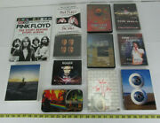 Lot Of Pink Floyd Items Magazine Wallet Cd Dvd Book The Wall Dark Side Collector
