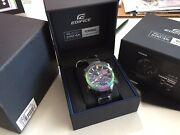 Casio Edifice Eqb500rbb-2 Red Bull Limited Discontinued 100 New Mobile Link