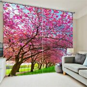 Red Leaces 3d Blackout Window Curtains Living Bedding Room Home Decor Tapestry