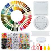 Jewelry Making Kit With Beads Charms Findings Pliers Beading Wire For Necklace