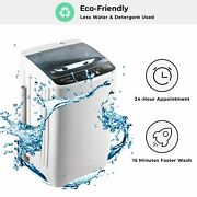 Portable Washing Machine Compact Full-automatic Mini Washer Machine Spin Dryer