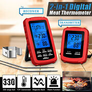 Bbq Food Thermometer Grill Barbecue Water Meat Cooking Temperature Gauge