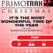 Itand039s The Most Wonderful Tim... - Edward Pola And George Wyle - Accompaniment Track