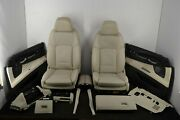 Bmw 7 Series F02 Interior Complete Seat Set Beige Leather Lhd