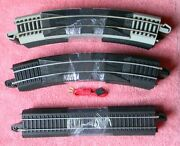 Bachmann Ez Track 12pcs-r18 Curve And 4-straight Lot Of 16 And Power-cord - Ho  51
