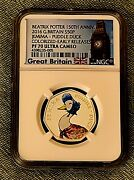 2016 Great Britain Beatrix Potter Jemima Puddle Duck Colorized Ngc Pf70 Silver