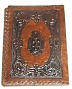Western Style Bible/book Cover - Looks Handmade Tooled Leather 7x9