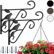 Garden Shepard Hooks Sheppard Shepherd Set Of Metal Hanging Patio Decoration Hot
