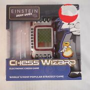 Einstein Lcd Chess Wizard By Excalibur Handheld Electronic Brain Game