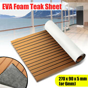 106and039and039 9435and039and039 6mm Boat Teak Decking Marine Flooring Yacht Sheet Carpet Pad Eva