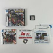 Pokemon Platinum Version Authentic Nintendo Ds Complete/tested/working