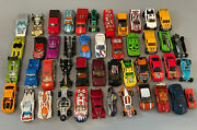 Misc. Hot Wheels Mattel Toy Car Lot 46 Cars Various Styles And Models