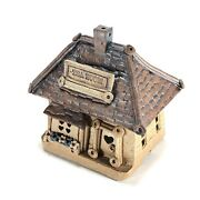 Windy Meadows Pottery Tea Room Cottage Handmade Attached Roof Tea Light Holder