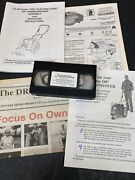 Dr Trimmer/mower 5.5hp Vector Pro Electric Start Operating Instructions Vhs Tape
