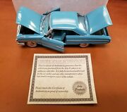1/34 Scale Diecast Silver Age Of Ford 1964 Galaxie 500xl Fastback By Arko