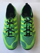 Rare Nike Lunar Flyknit Htm Free Size 10 Volt Trainer 616171-740 New W/ Box