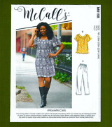 Tops, Dress, Pants, Shorts Sewing Patterneasy Plus Sizes 18w-24w Mccalls 8158