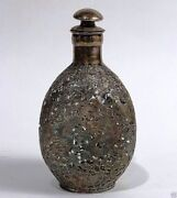 A017 Up For Sale Is A Estate Chinese Export 19th Century Ornate Sterling Whisky