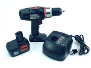 Drill Cordless Craftsman 14.4v Cordless 3/8 Drill, Battery And Charger