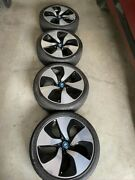 Bmw Oem I8 Turbine 444 Style 215/40r20 Wheel And Winter Tire, Barely Used X 4
