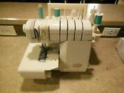 2104 Baby Lock Evolve Serger Sewing Machine Ble8 With Foot Pedal - Evolution