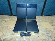 Wacom Bundle 4 Bamboo Splash Pen Tablets With 2 Pens And 4 Cords And Software.