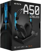 Astro Gaming A50 Wireless Headset And Base Station For Playstation 4 - Black/blue