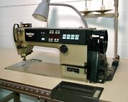 Brother Industrial Sewing Machine, Exedra E-40 Mark Ii Db2-b737-413, W/table